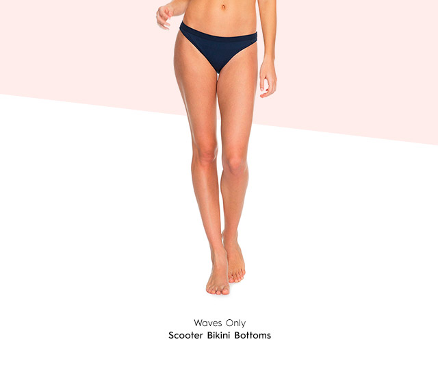Waves Only - Scooter Bikini Bottoms